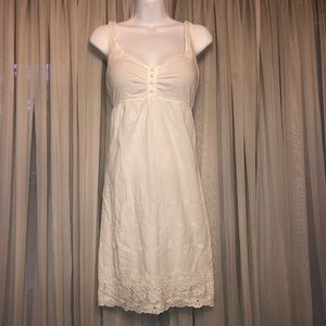 Delias white sundress